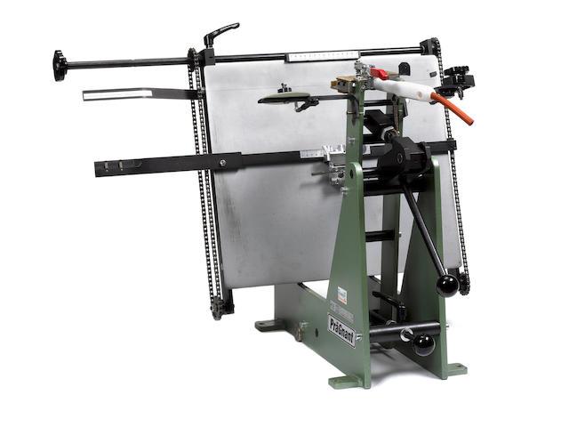PRAGNANT BLOCKING PRESS PräGnant HHS 30 electric foil blocking press