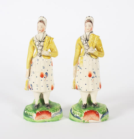 Two early 19th century Staffordshire figures
