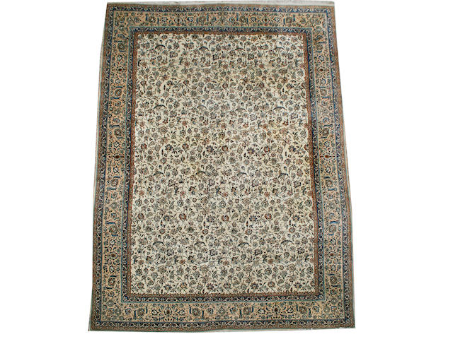 A Nain carpet Central Persia, 14 ft 4 in x 10 ft 7 in (435 x 321 cm)