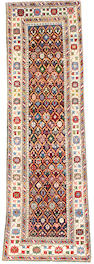 A Shirvan runner East Caucasus, 10 ft x 3 ft 2 in (305 x 95 cm)