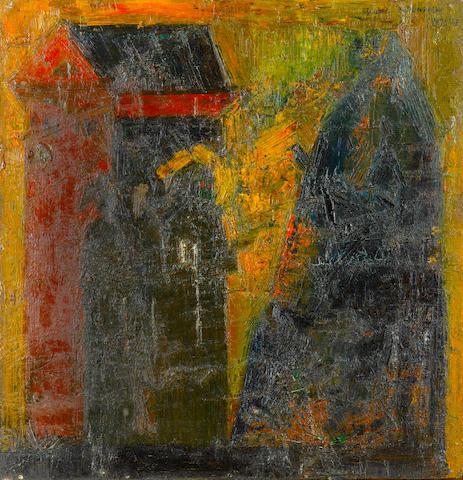 (n/a) Syed Haider Raza (India, born 1922) D'après Berlinger,