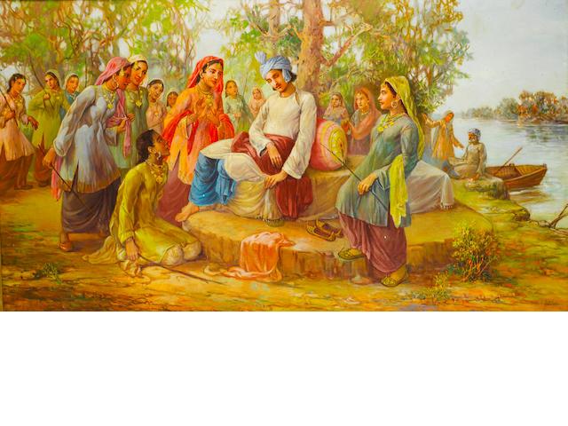 (n/a) Ustad Allah Bux (Pakistan, 1895-1978) Heer and Ranjha,