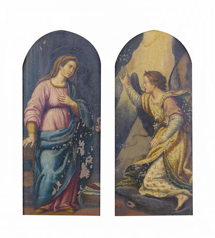 Florentine School, early 17th Century The Annunciation