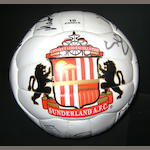 A Sunderland F.C hand signed football
