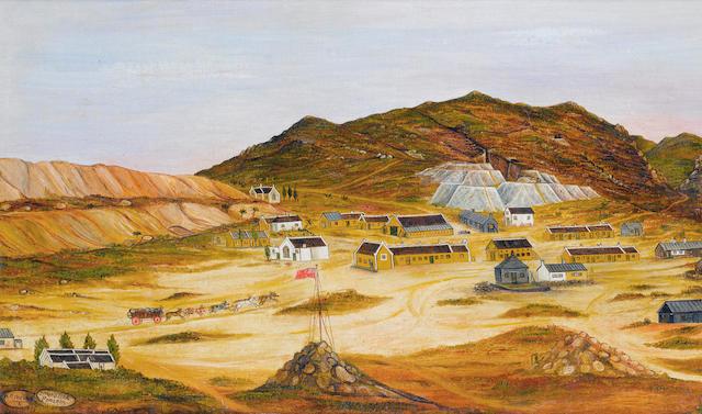 W.R. Herand (South African, active circa 1900) Springbokfontein, Namaqualand