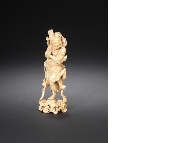 An ivory carving of Li Tieguai 17th/18th century
