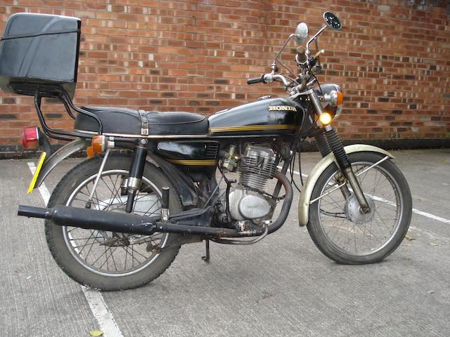 1984 Honda CG125 Frame no. CG125 1216798 Engine no. CG125E 1411450