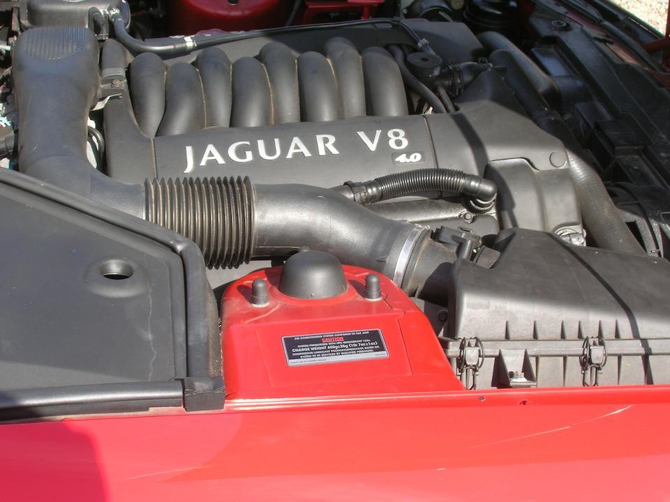 1998 Jaguar XK8 Coupé  Chassis no. SAJJGAED3AH032949 Engine no. NC9809181217