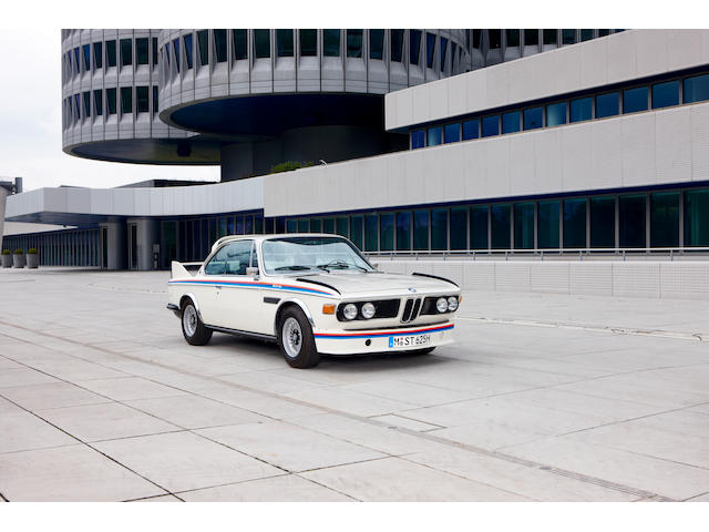 The 46th of only 57 examples built,1975 BMW 3.0 CSL 'BATMOBILE'  Chassis no. 4355046 Engine no. 4355046