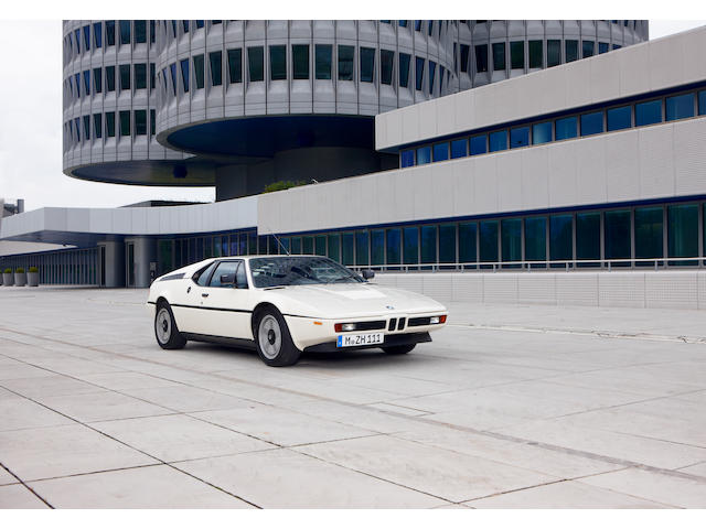 1979 BMW M1 Coupé  Chassis no. 4301 166