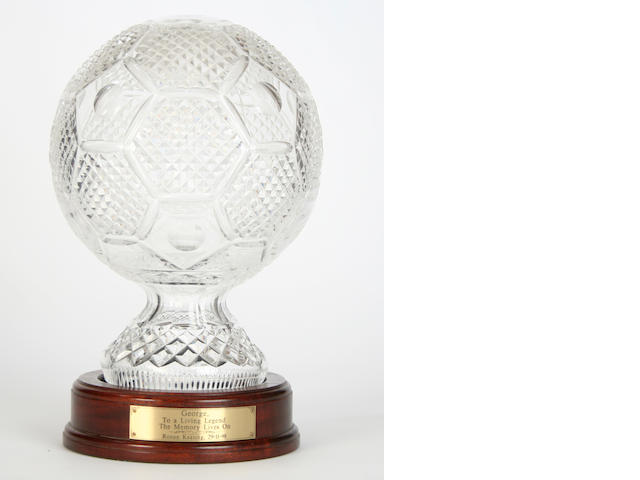 1998 George Best 'To a living legend' award