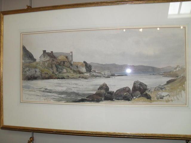 William Callow, RWS (British, 1812-1908) 'Loch Inver'
