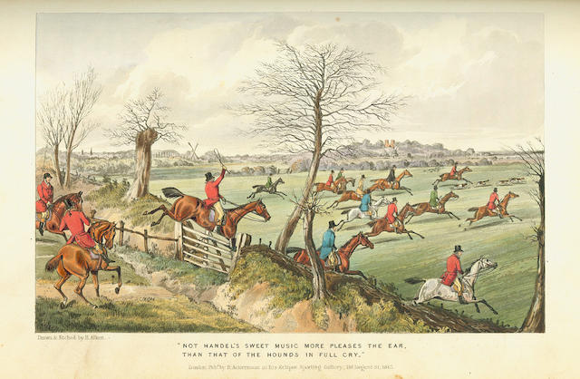 APPERLEY (CHARLES)] The Life of a Sportsman, by Nimrod