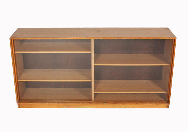 A Gordon Russell ash bookcase