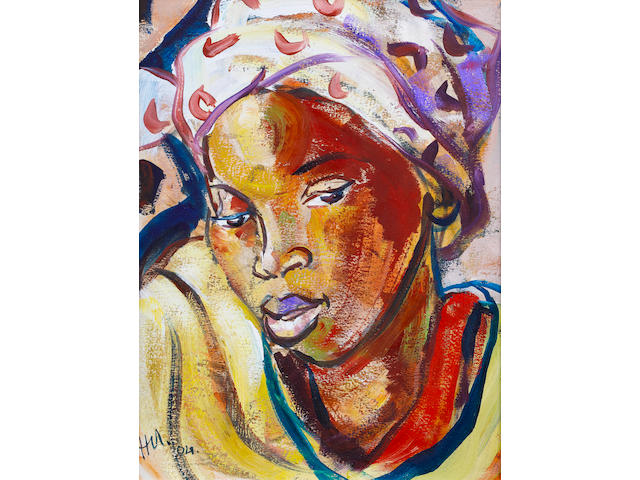 Hennie Niemann Jnr. (South African, born 1972) The spotted doek
