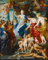 After Sir Peter Paul Rubens, 19th Century The Felicity of the Regency of Maria de' Medici