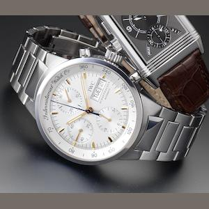 IWC. A stainless steel automatic chronograph bracelet watch GST Chrono-Automatic, Case Number 2751160, Recent