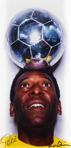 Marc Quinn (British, born 1964) Untitled (Pelé), 2003