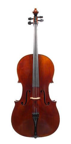 A French Cello of the Collin Mezin School circa 1910 (2)