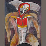 Cecil Skotnes (South African, 1926-2009) The warrior