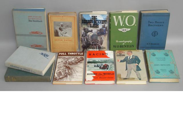 A good quantity of sought after motoring titles,