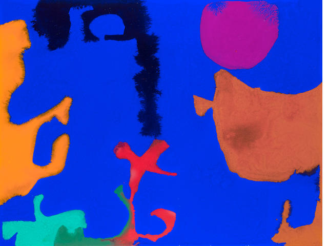 Patrick Heron (British, 1920-1999) NOVEMBER III 59 x 77 cm. (23 1/4 x 30 1/2 in.)