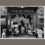 Willy Ronis (French, born 1910) Café de France, L'Isle sur la Sorgue, 1979 30 x 40cm (11 13/16 x 15 3/4in).
