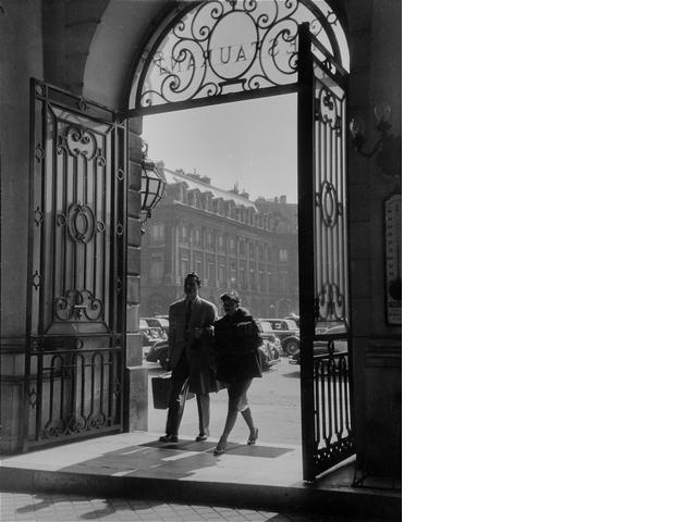 Willy Ronis (French, born 1910) Place Vend&ocircme - 2, 1948 18 x 23.6cm (7 1/16 x 9 5/16in).