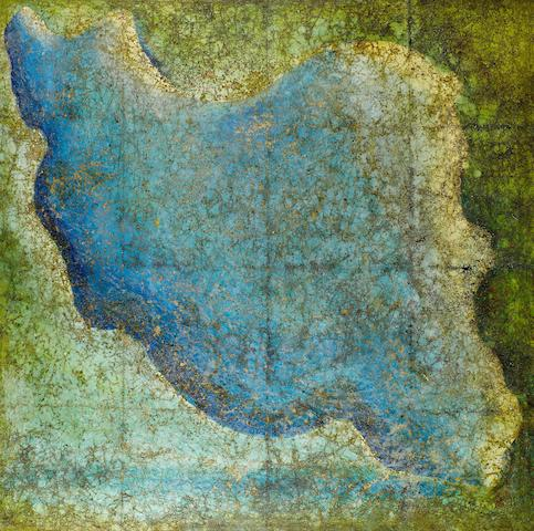 (n/a) Farhad Moshiri (Iran, born 1963) Map of Iran,