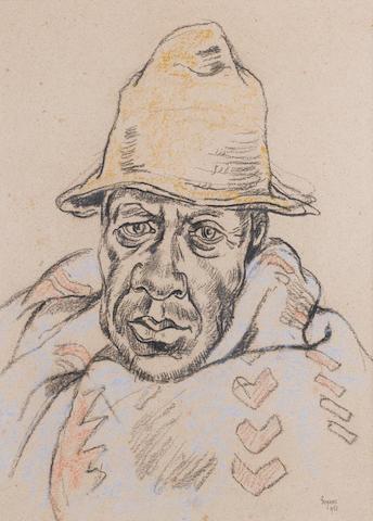 Gregoire Johannes Boonzaier (South African, 1909-2005) Portrait, 1953