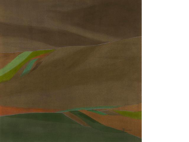 Takao Tanabe (Canadian, born 1926) The Land:47
