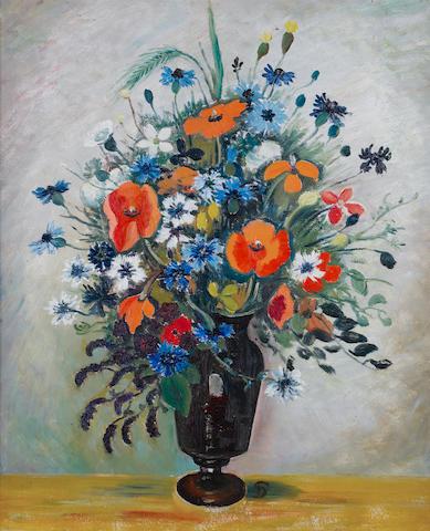 Pranas Domsaitis (South African, 1880-1965) A vase of spring flowers