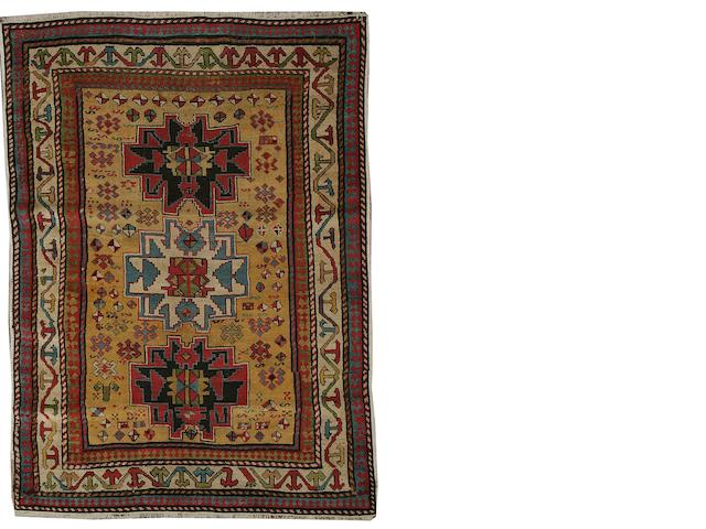 A Lesghi rug East Caucasus, 4 ft 3 in x 3 ft 3 in (128 x 98 cm)