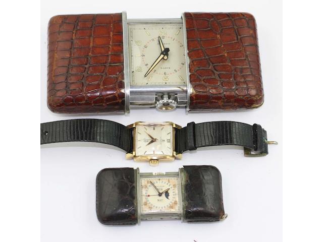 Movado: A calendar golfing watch,(3)
