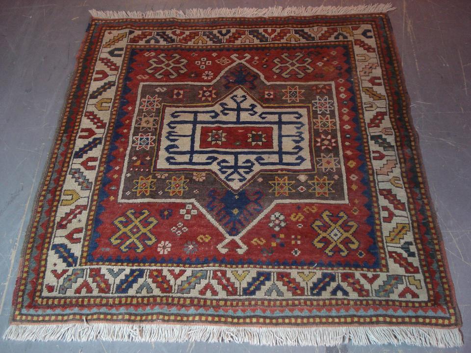 A Fachralo Kazak rug Central Caucasus, 113cm x 107cm
