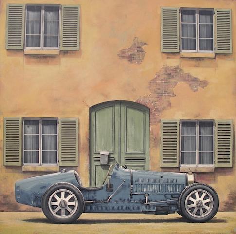 Tony Upson, 'Bugatti Type 35',