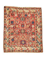 A Shirvan Rug East Caucasus, 4 ft 9 in x 3 ft 11 in (144 x 120 cm)
