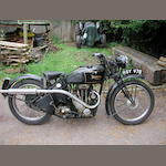 1936 Triumph 248cc Model 2/1 Frame no. F1566 Engine no. 1R62845
