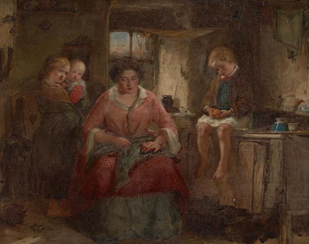 Thomas Faed, RA HRSA (British, 1826-1900)