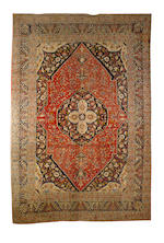 7A Tabriz carpet North West Persia, 16 ft 11 in x 11 ft 5 in (515 x 346 cm) some minor wear