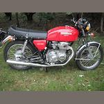 1976 Honda CB400/4 Frame no. CB400F-1060114 Engine no. CB400F-E-1034289