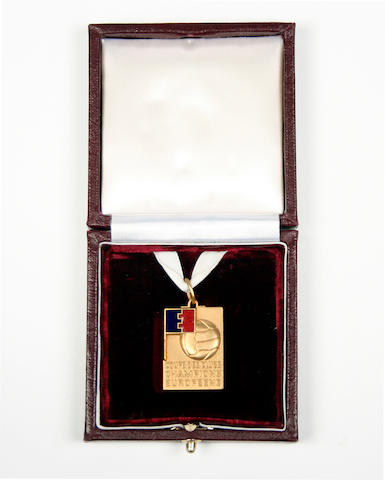 1968 European Cup Winners replica medal - George Best