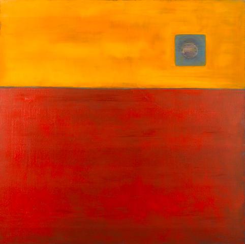 Barrington Tobin (British, born 1948) 'Blue Line', 1999
