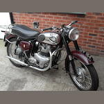 1959 BSA 500cc A7 Frame no. FA 713270 Engine no. CA 7556068