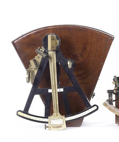 A 10in(25.5cm)radius Ebony Octant,