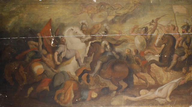 After Sir Peter Paul Rubens, 18th Century The Battle of Ivry