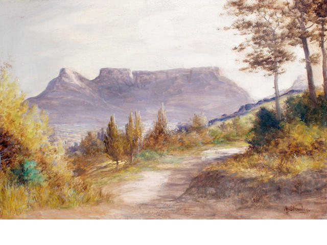 A. Stanley (early 20th century) 'Cape Town from Signal Hill'