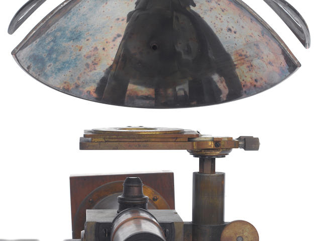 A rare and important microscope camera combination observer, by Le Chatelier Ph. Pellin, Paris,