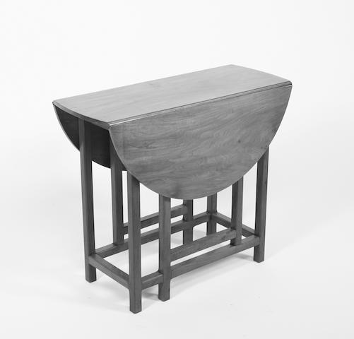 Peter Waals Walnut gateleg table