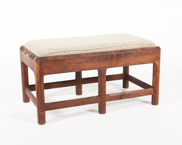 Gordon Russell oak stool